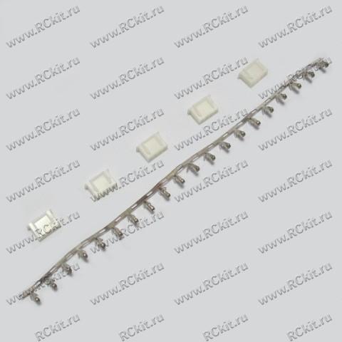 Разъем применяется в электрических схемах страйкбольного оружия, приводов, радиоуправляемых моделях, где используется...